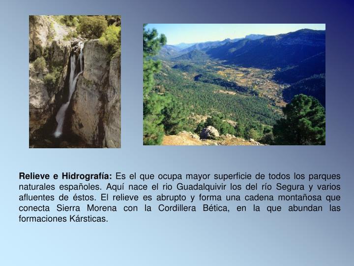 Relieve e Hidrografía: