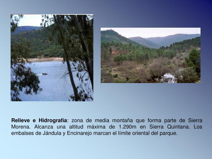 Relieve e Hidrografía