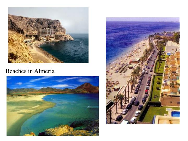 Beaches in Almeria
