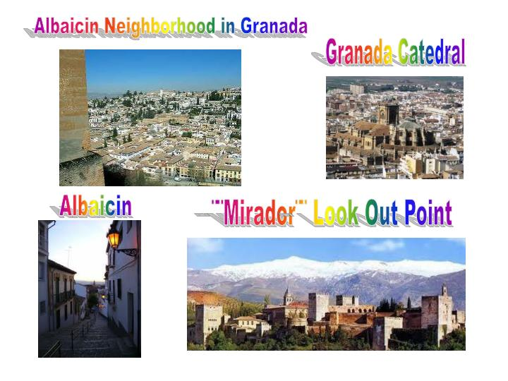 Albaicin Neighborhood in Granada