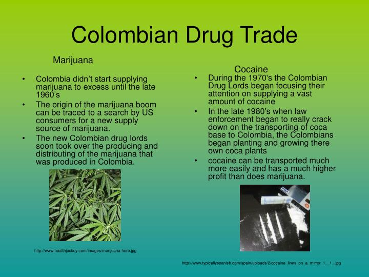 Colombian Drug Trade
