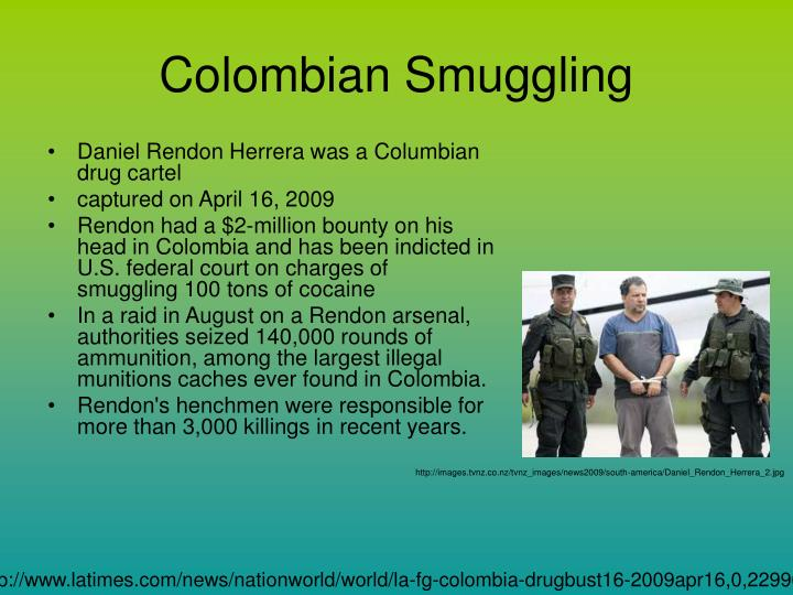Colombian Smuggling