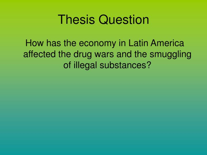 Thesis Question