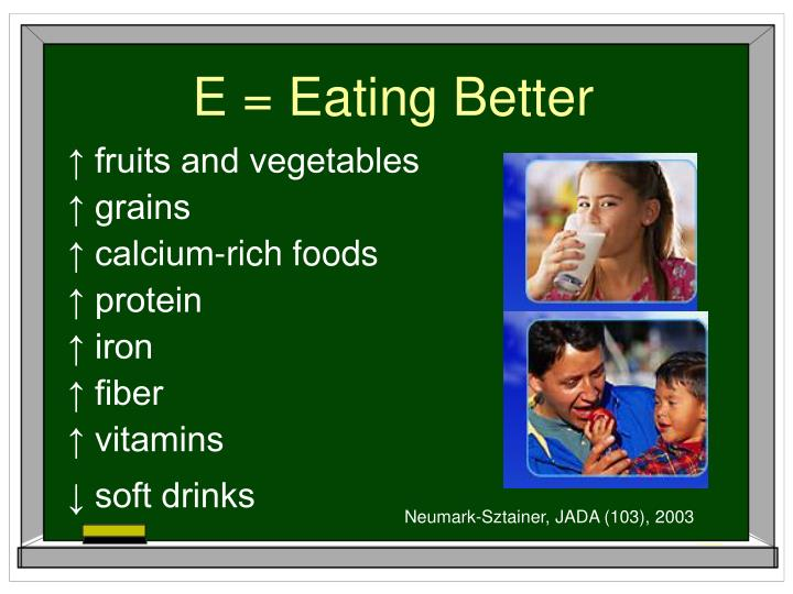 E = Eating Better