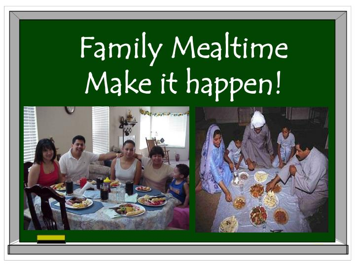 Family Mealtime