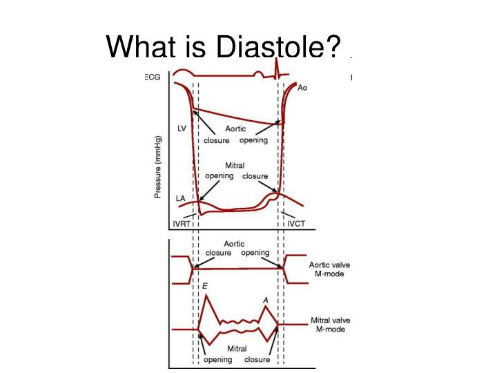 What is Diastole?