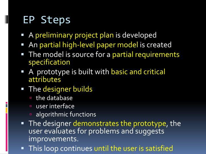 EP Steps