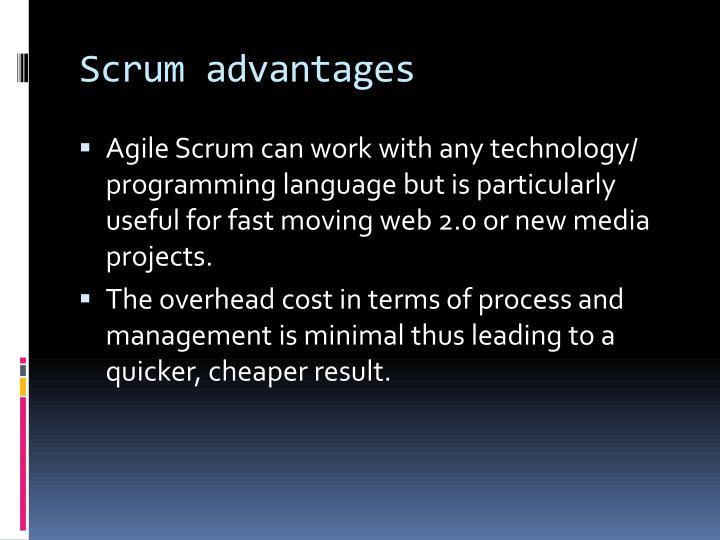 Scrum advantages