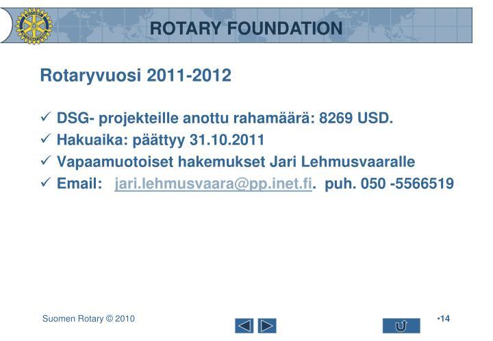 Rotaryvuosi 2011-2012