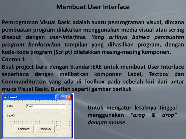 Membuat User Interface