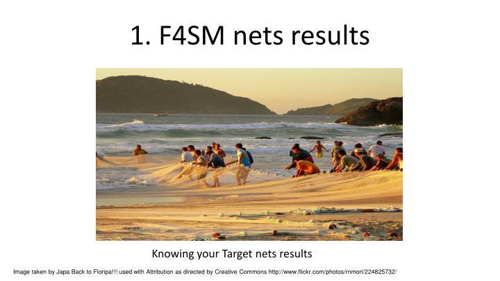 1. F4SM nets results