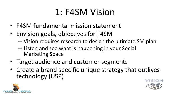 1: F4SM Vision