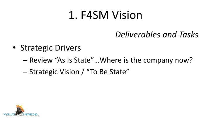 1. F4SM Vision