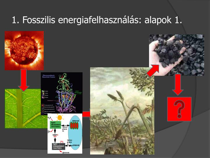 1. Fosszilis energiafelhasználás: alapok 1.