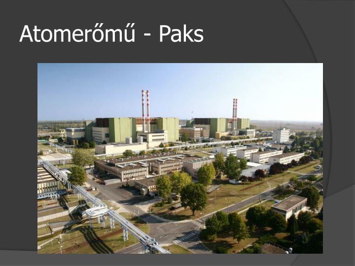 Atomerőmű - Paks