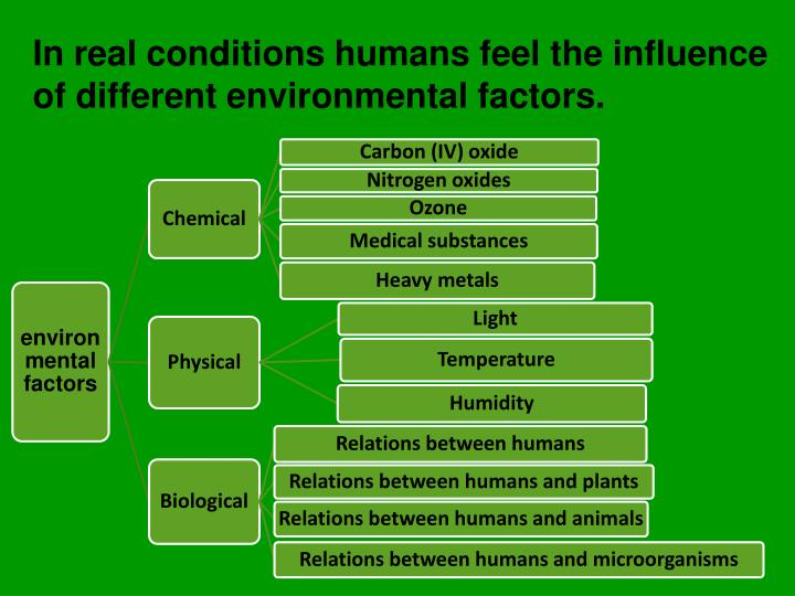 the influence of various human activities on our ecosystem Whose intellectual curiosity is piqued by concern for the environment one of those influences is the effect of human activities effects of changing climate on weather and human activities climate.