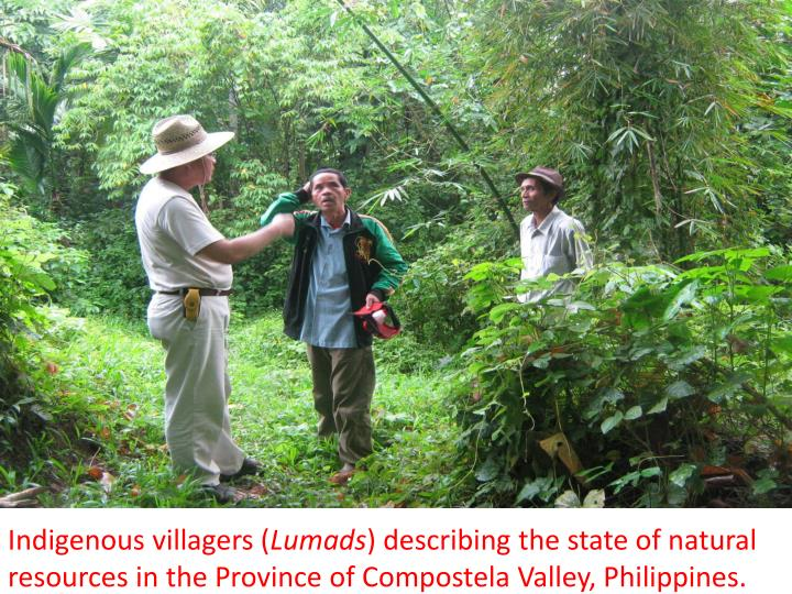 Indigenous villagers (