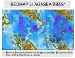 bedmap vs agasea bbas