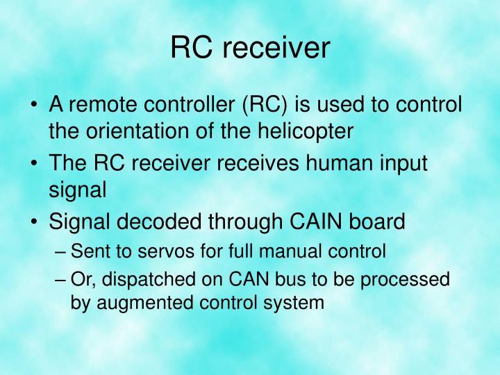 RC receiver