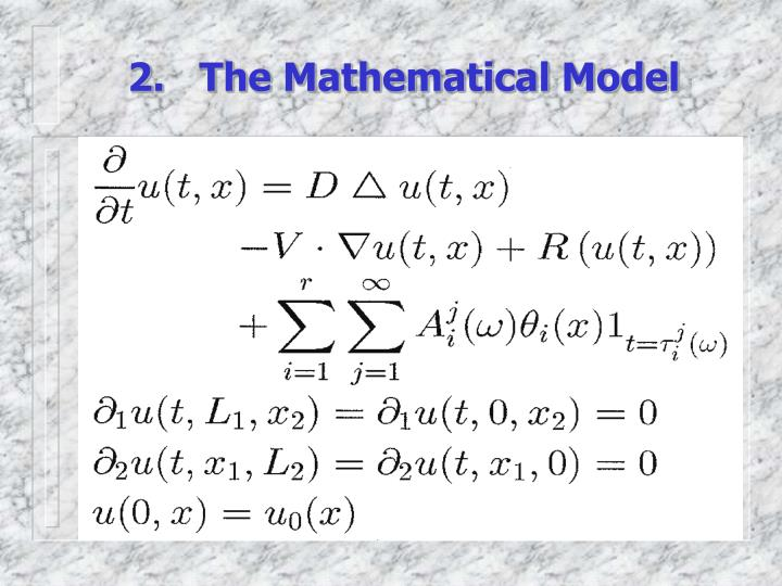 2.   The Mathematical Model