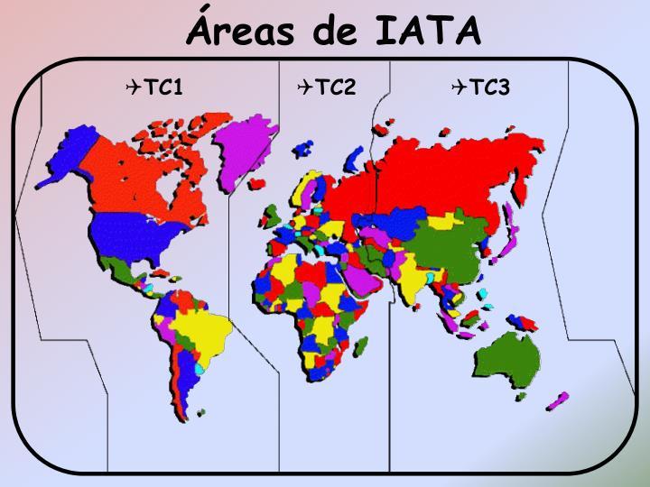 Áreas de IATA