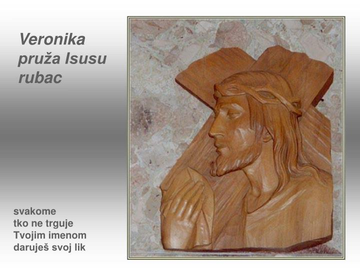 Veronika pruža Isusu rubac