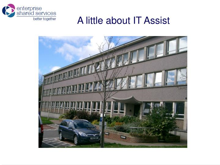 A little about IT Assist