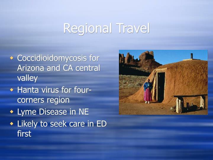 Regional Travel