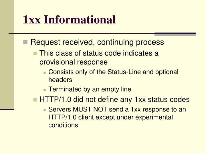 1xx Informational