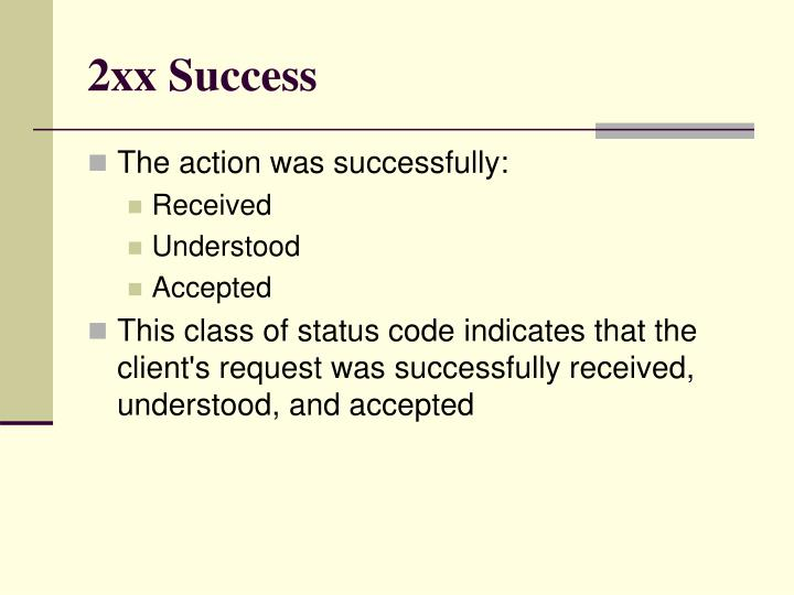 2xx Success