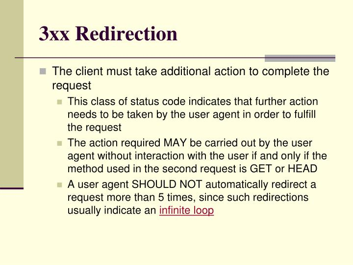 3xx Redirection