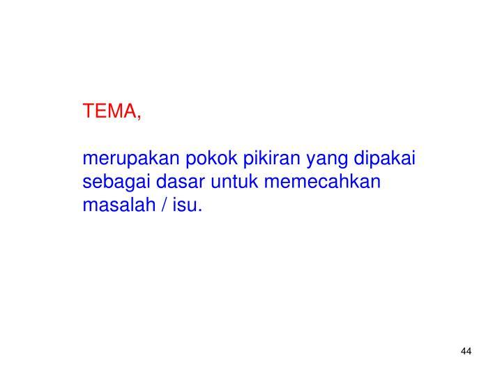 TEMA,
