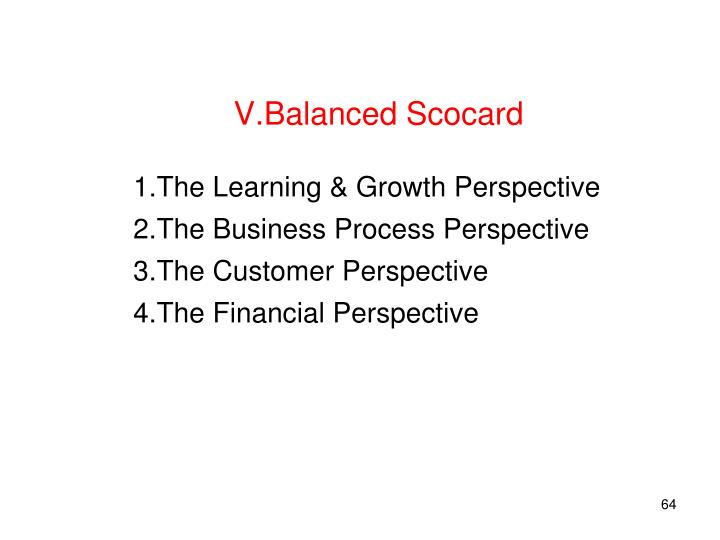 Balanced Scocard