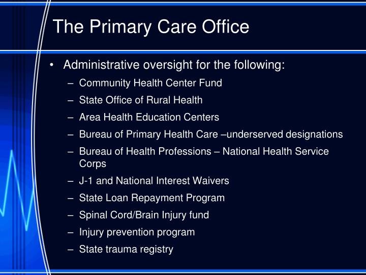The Primary Care Office
