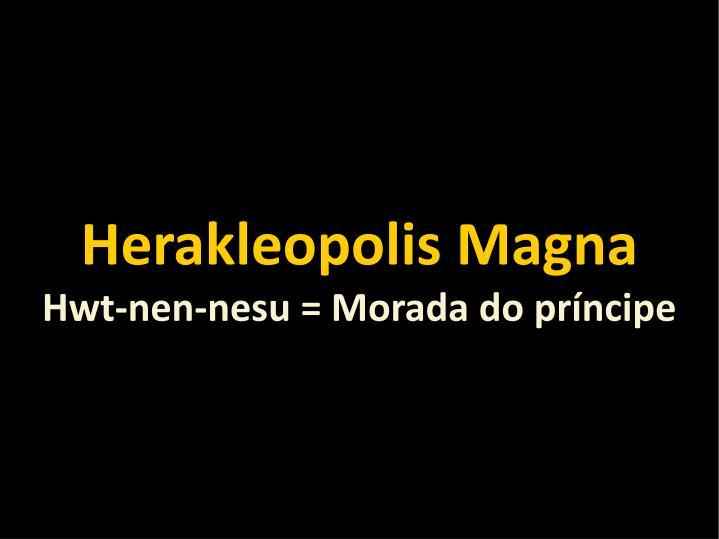 Herakleopolis Magna