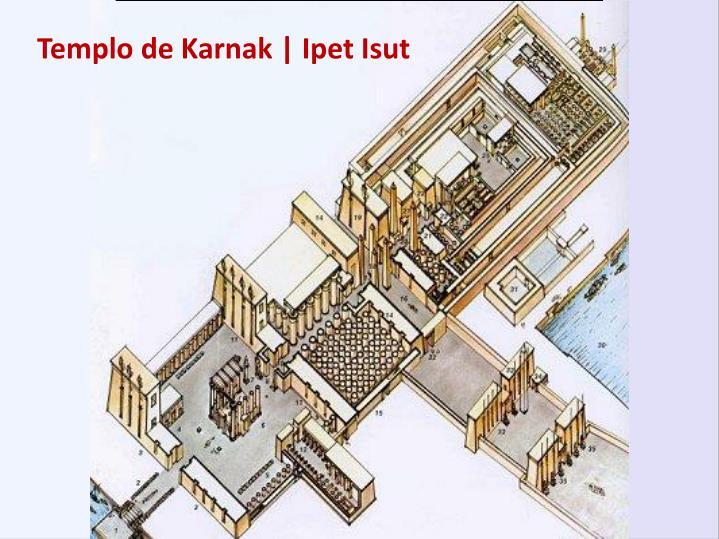 Templo de Karnak | Ipet Isut