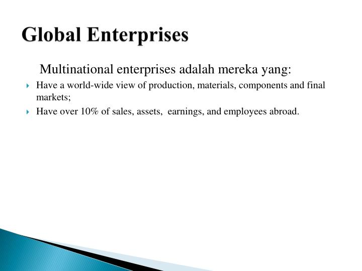 Global Enterprises