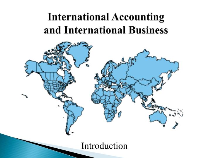 International accounting and international business