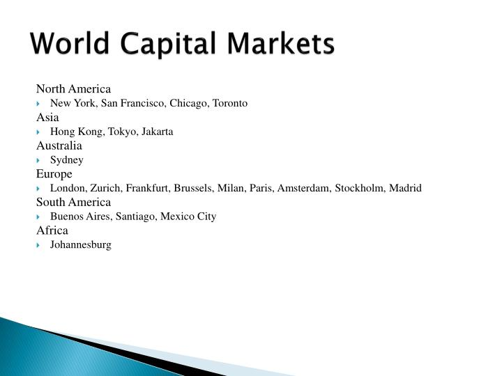 World Capital Markets