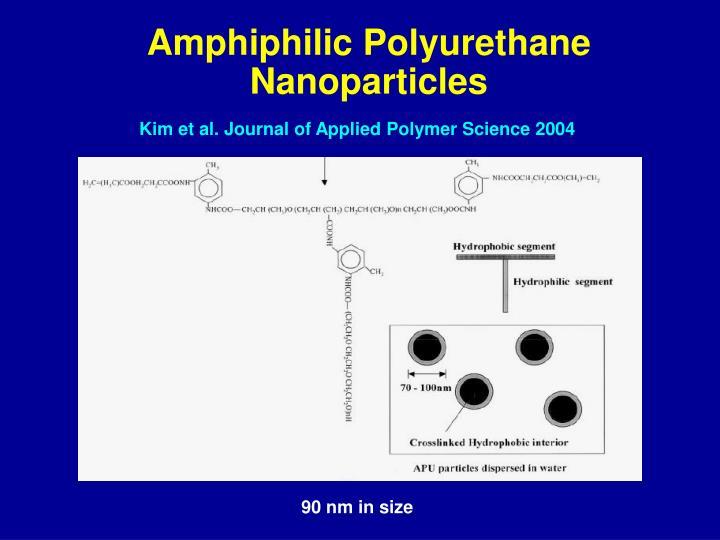 Amphiphilic Polyurethane
