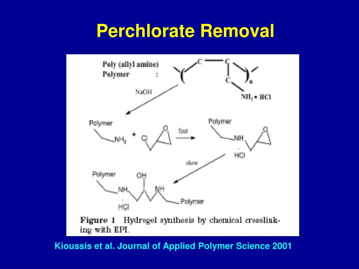 Perchlorate Removal