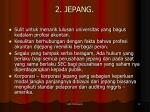 2 jepang