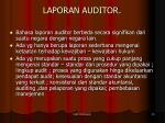 laporan auditor