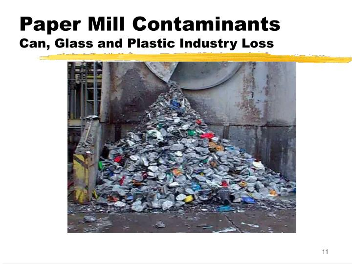 Paper Mill Contaminants