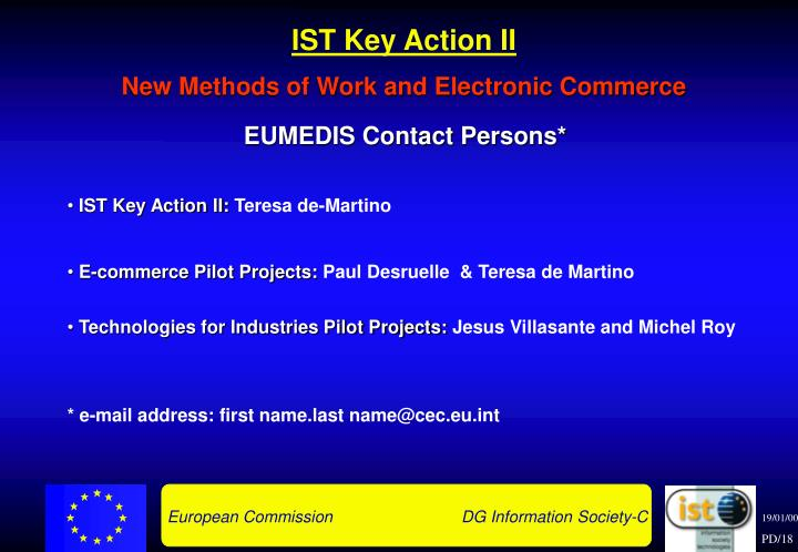 IST Key Action II