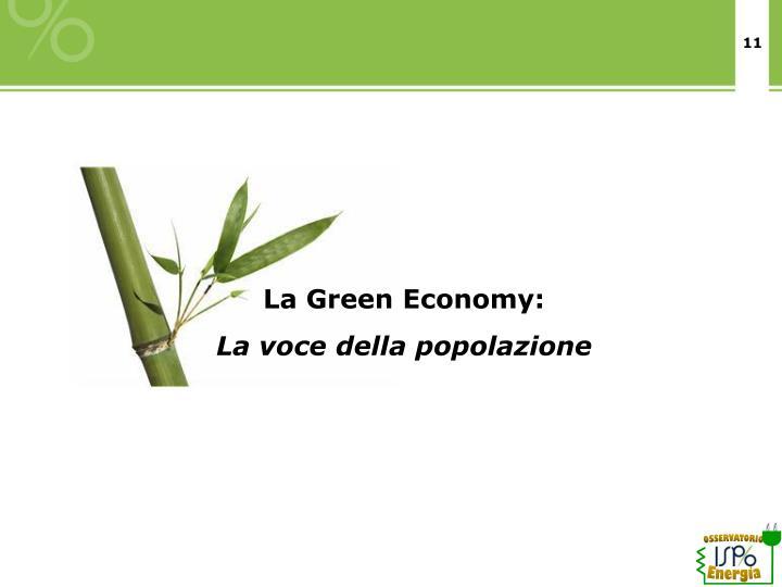 La Green Economy: