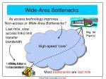 internet bottlenecks