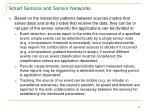 smart sensors and sensor networks21
