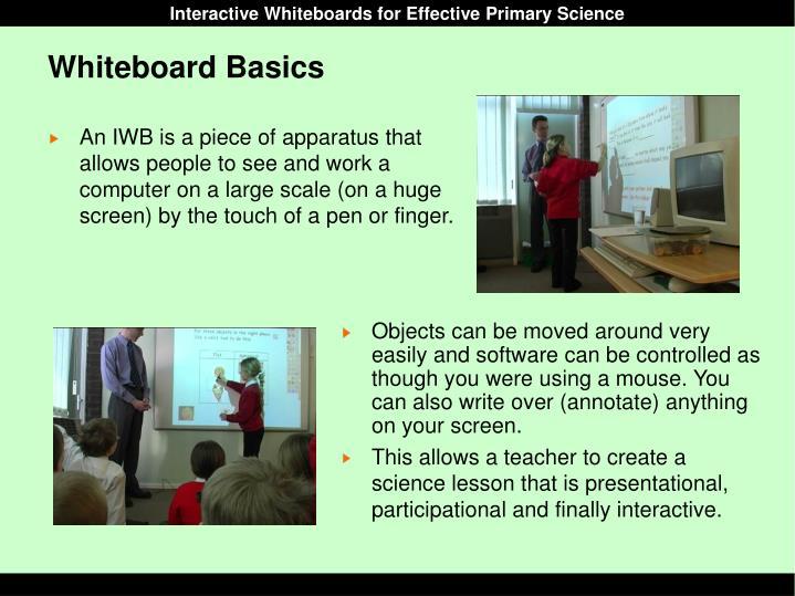 Whiteboard Basics