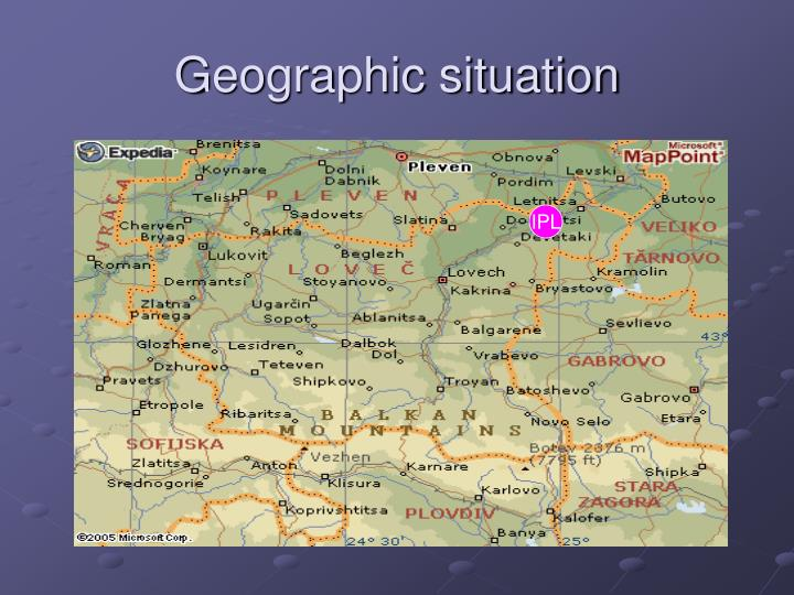 Geographic situation1